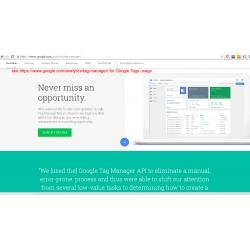 Google tag manager for Prestashop module