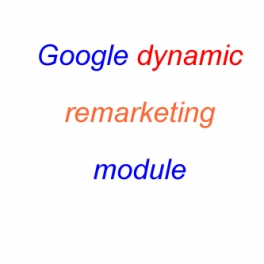 Google remarketing module
